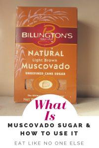 What is Muscovado Sugar