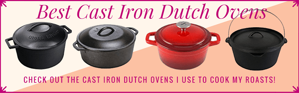 the Best Cast Iron Dutch Oven for Roasts