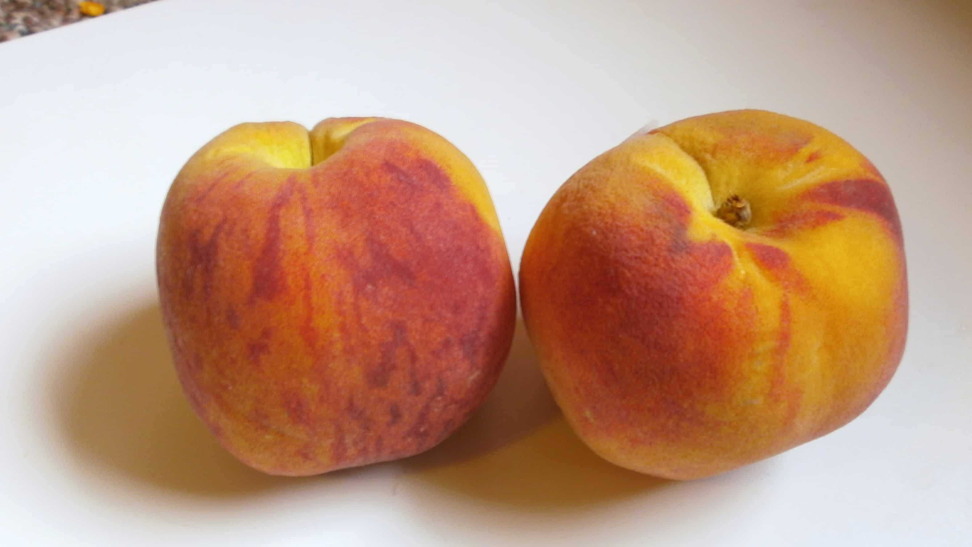 my first california peach of the year - amber crest - eat like no