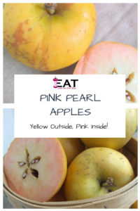 Pink Pearl Apples – Pink on the Inside!