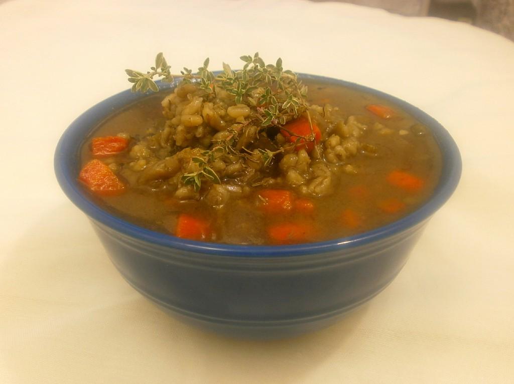 Ina Garten's Beef Barley Soup