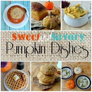 Sweet And Savory Pumpkin