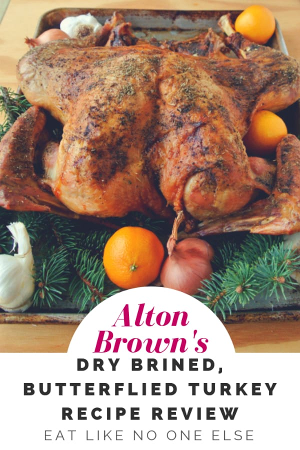Alton Brown Dried Brine Turkey Pinterest