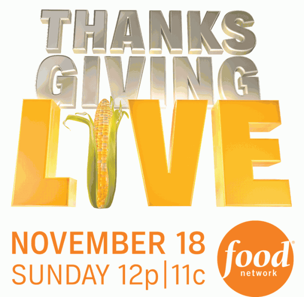 Recap of Food Network Thanksgiving Live 2012 - Eat Like No