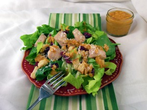 White Chicken Salad with Giada's Roasted Root Vegetable Vinaigrette