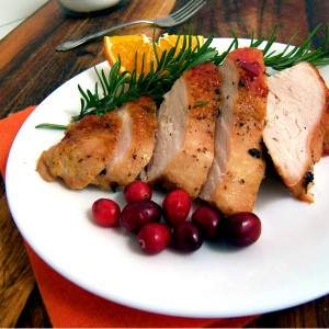 Giada's Cranberry-Orange Glazed Turkey