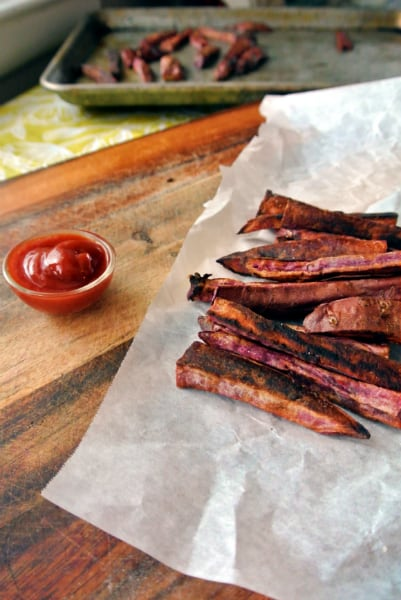 Purple Sweet Potato Fries