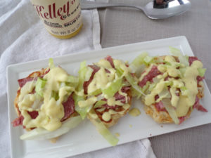 Corned Beef & Cabbage with Boxty Cakes & Mustard Sauce