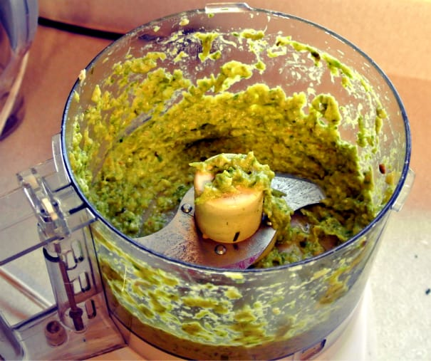 Asparagus Pesto (After)