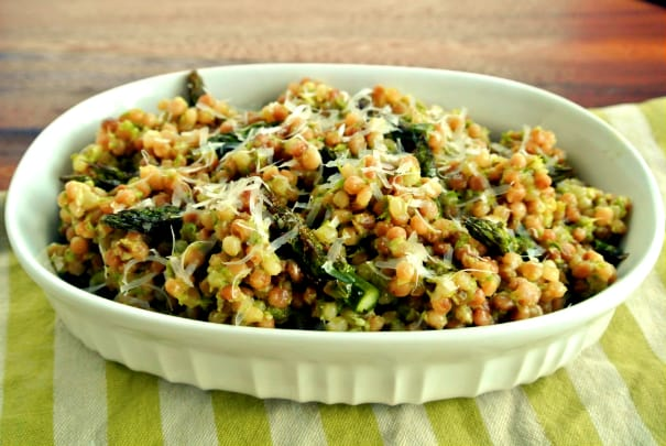 Asparagus Pesto Couscous