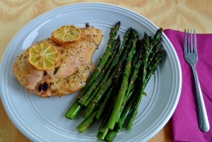 Roasted Bone-In Lemon Herb Chicken