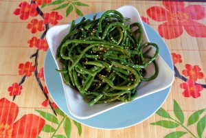 Sesame Glazed Long Beans