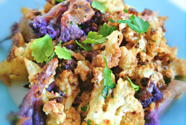 Tahini Roast Cauliflower