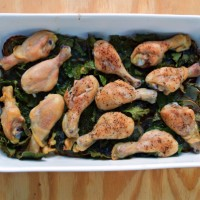 Chicken Drumsticks Kale Potatoes Dill