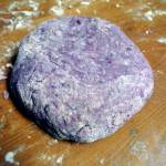 Purple Sweet Potato Gnocchi Dough