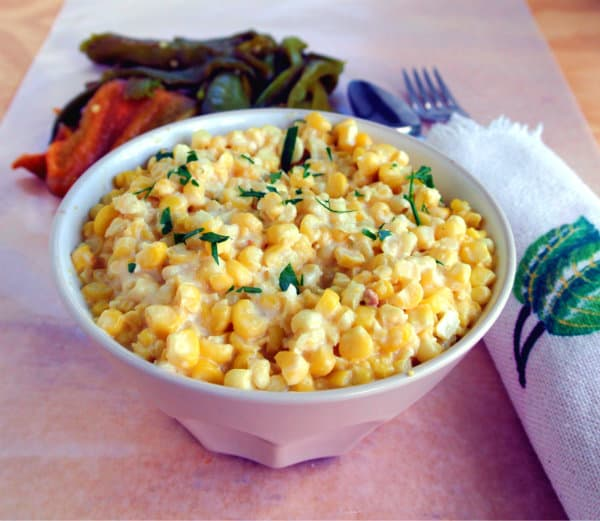 Hatch Chile Creamed Corn