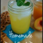 Homemade Peach Soda Pop