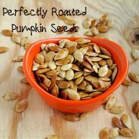Perfectly Roasted Pumpkin Seeds