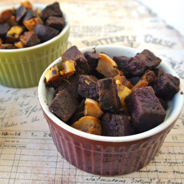 Purple Sweet Potato & Delicata Hash 2