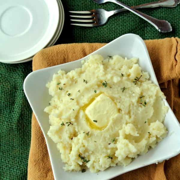 Baked Mashed Potatoes