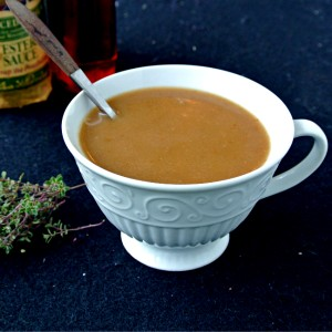 Maple-Worcestershire Gravy