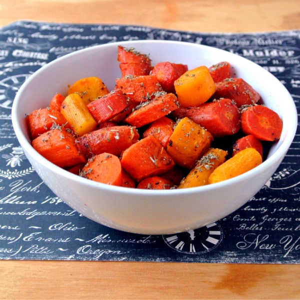 Buttery Roasted Carrots