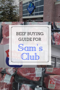 Meat Buying Guide – Beef Prices at Sam's Club