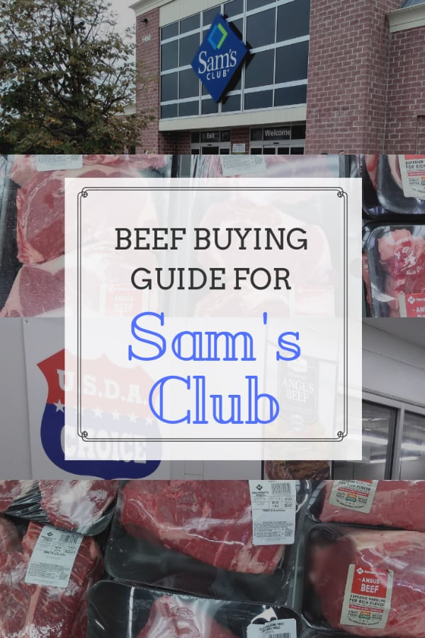 Meat Buying Guide - Beef Prices at Sam's Club - Eat Like ...