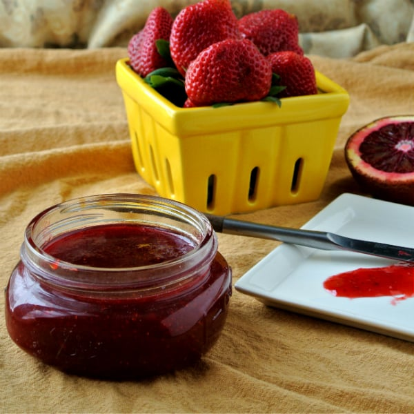 Strawberry Blood Orange Jam