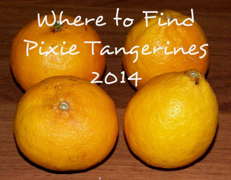 Ojai Pixie Tangerines 2014