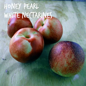 Honey Pearl White Nectarines