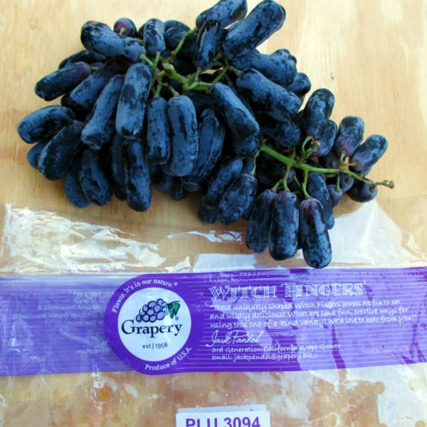 Witch Finger Grapes 2nd Variety