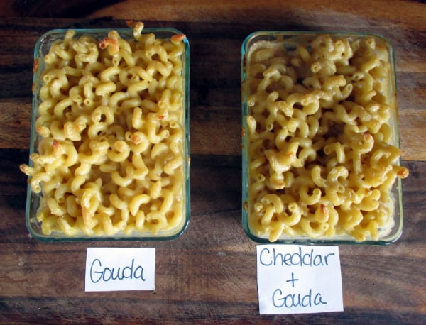 Gouda and Mix Mac Cheese