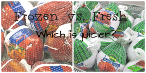 Fresh vs Frozen Juicier Turkey