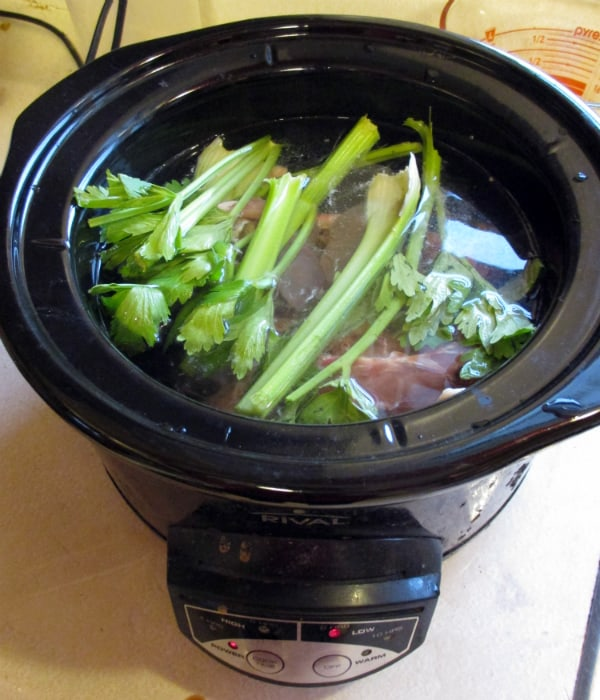 Giblets in Slow Cooker