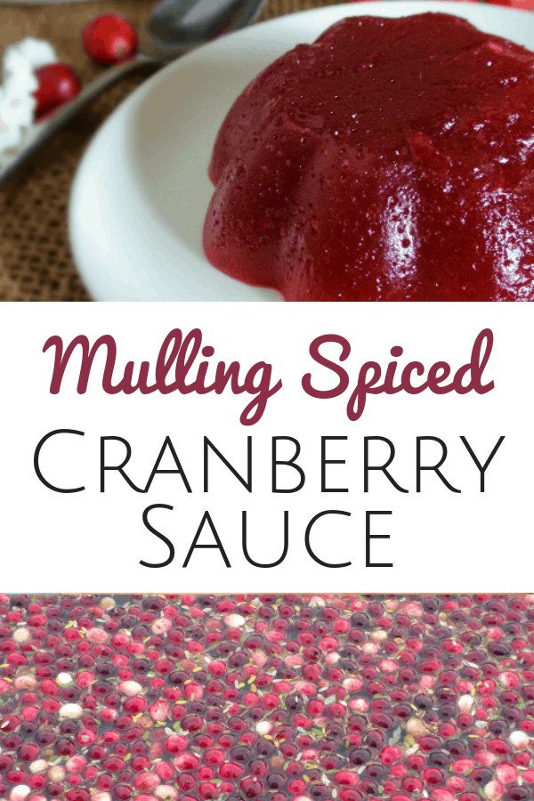Mulling Spiced Cranberry Sauce