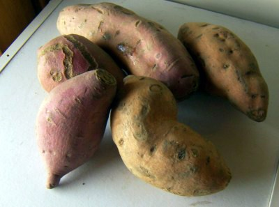 sweet potatoes types