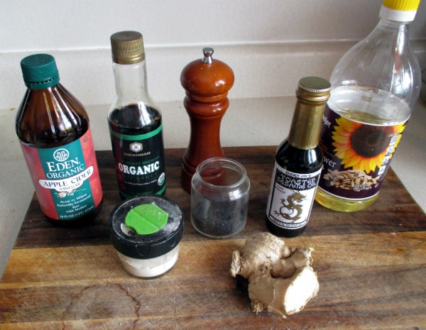 Seame Ginger Dressing Ingredients
