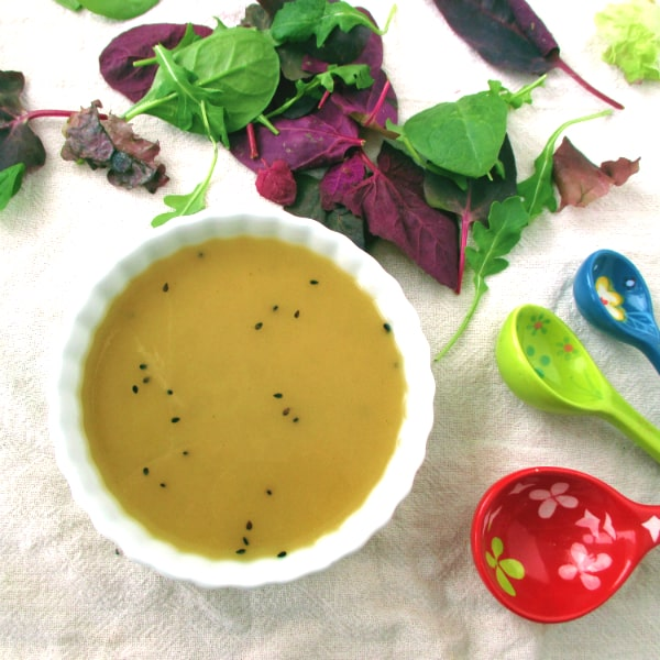 Sesame Ginger Salad Dressing