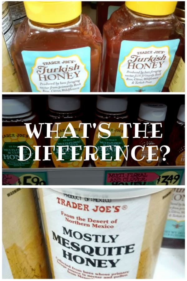 What's the Difference with honey from the shelves of Trader Joe's
