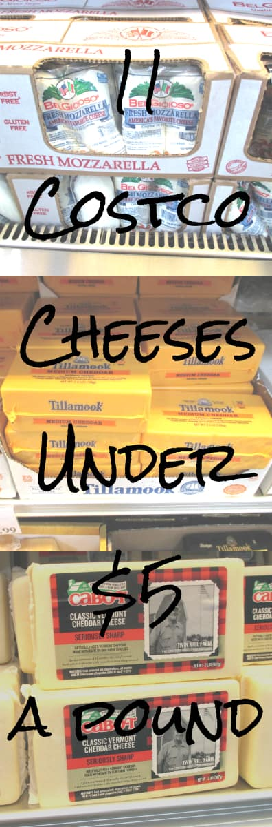 11 Costco Cheeses