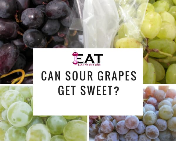 Can Sour Grapes Get Sweet? Can you ripen grapes at home to make them sweeter?