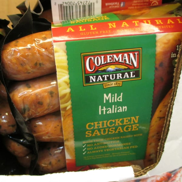 Coleman Chicken Sausage Costco