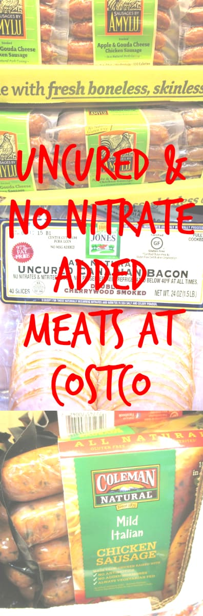 Uncured No Nitrates Added Costco Meats