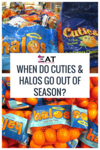 When Do Cuties Halos Go Out of Season