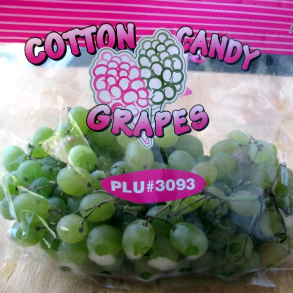 Cotton Candy Grapes from Mexico