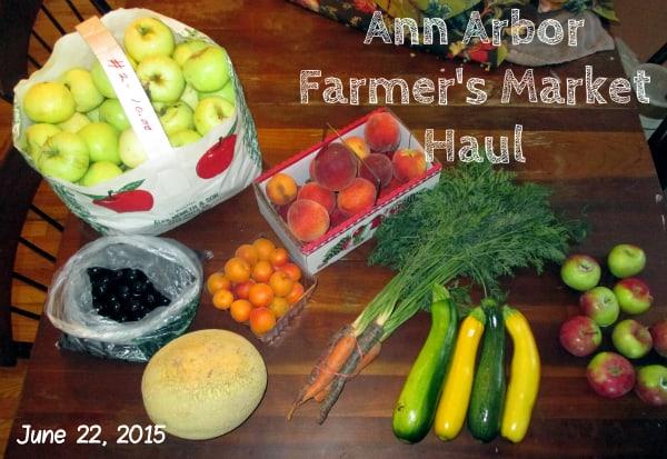 Ann Arbor Farmer's Market Haul