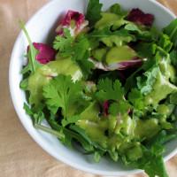 How to Make Avocado Salad Dressing