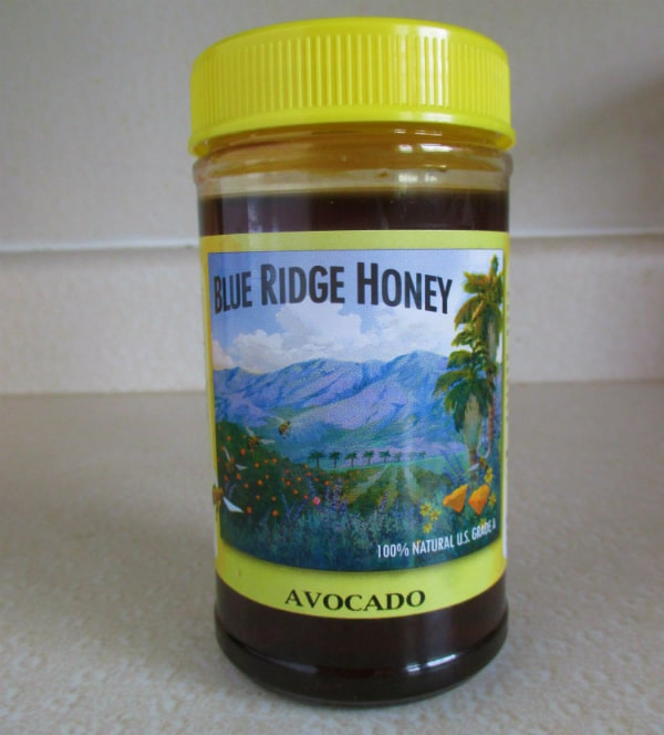 Blue Ridge Avocado Honey