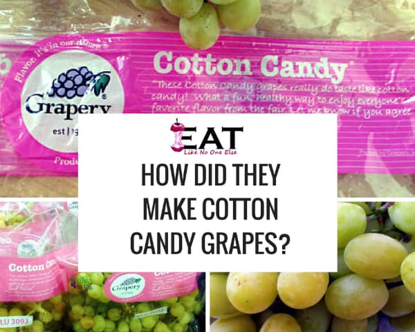 How Did They Make Grapes Taste Like Cotton Candy